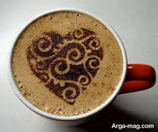 ایده هایی شیک از دیزاین قهوه