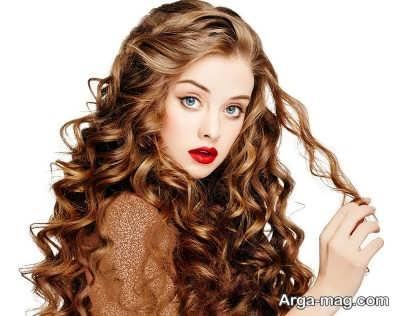 رنگ زدن موی فر با مراحلی ساده