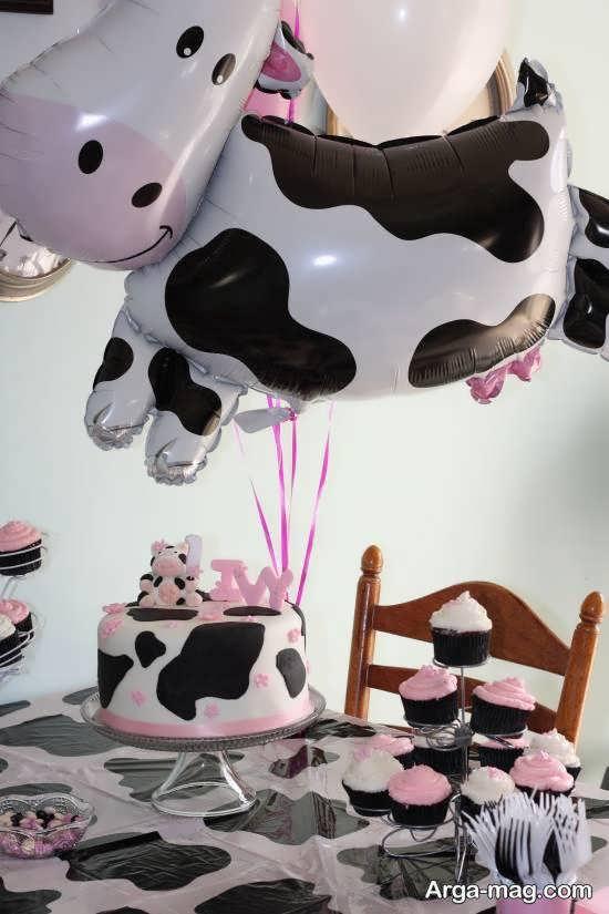 الگوهایی زیبا و متنوع از تم تولد گاو