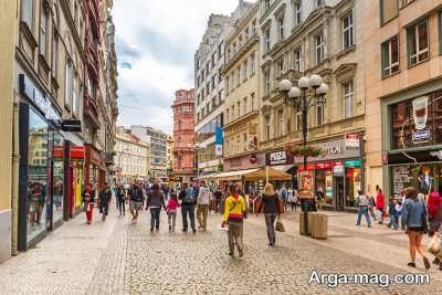 شهر های مهم در جمهوری چک