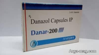 عوارض جانبی داروی دانازول