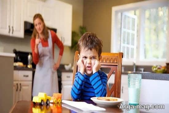 انواع برخورد مناسب با کودک خرابکار