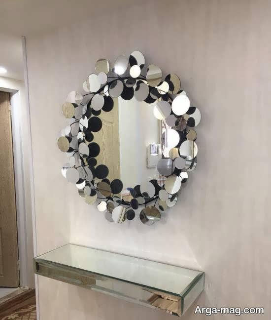 ایده هایی ایده آل و جذاب از دیزاین دیوار با آینه