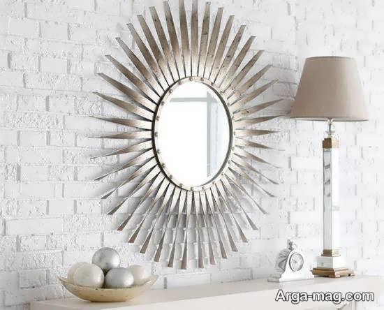 دیزاین های جذاب دیوار با آینه