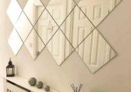 ایده هایی زیبا و جالب از تزیین دیوار با آینه