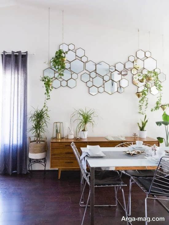 ایده هایی بینظیر و متفاوت از دیزاین دیوار با آینه