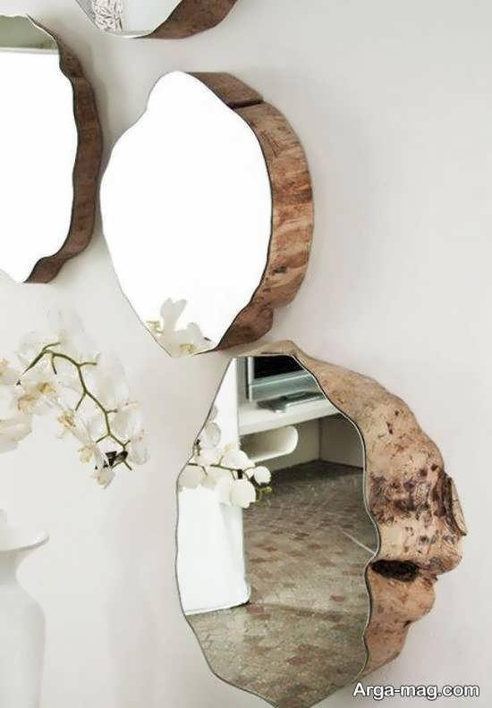 نمونه هایی ایده آل و جذاب از تزیین دیوار با آینه