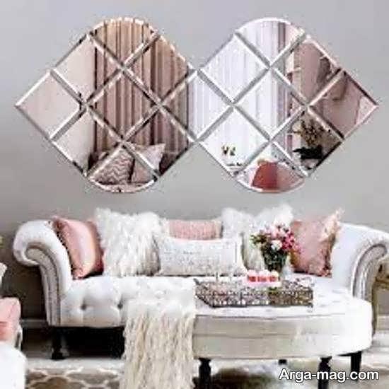 تزیینات خارق العاده و خلاقانه دیوار با آینه