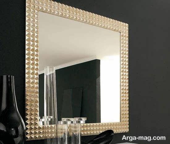 ایده هایی زیبا و جالب برای دیزاین دیوار با آینه