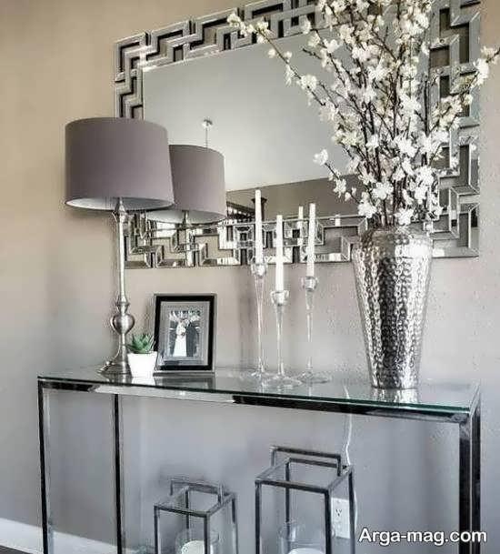 انواع نمونه های ایده آل و متفاوت تزیین دیوار با آینه