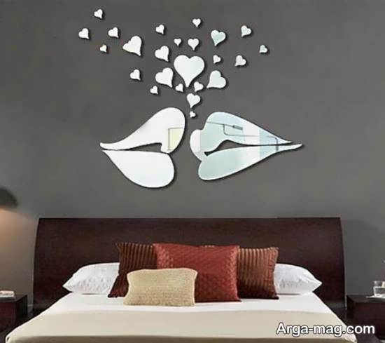 ایده های زیبا و لاکچری از دیزاین دیوار با آینه
