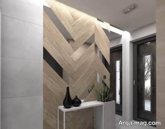 انواع نمونه های زیبا و جذاب تزیین دیوار با آینه