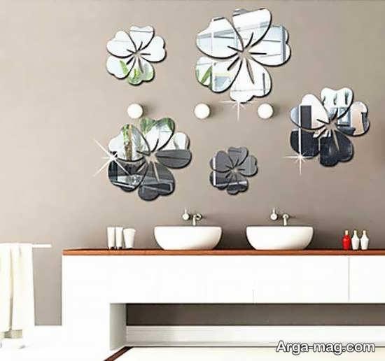 تزیین دیوار با آینه کاری به روش های متفاوت