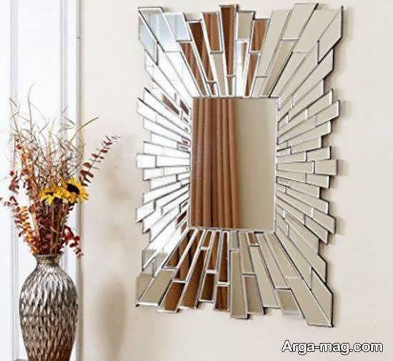 الگوهایی ایده آل و بینظیر تزیین دیوار با آینه