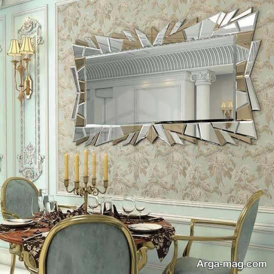 ایده هایی زیبا و خارق العاده از دیزاین دیوار با آینه
