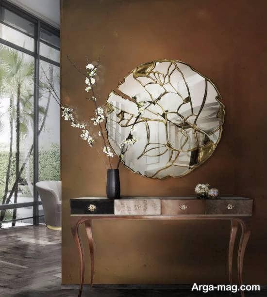 نمونه هایی ایده آل و خاص از تزیین دیوار با آینه
