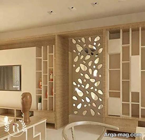 انواع نمونه های زیبا و منحصر به فردتزیین دیوار با آینه