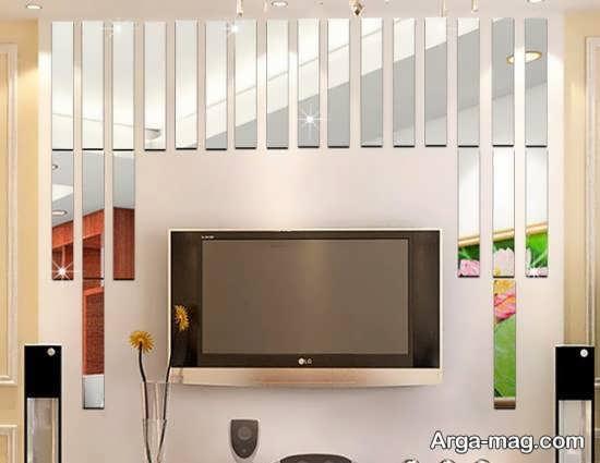 دیزاین های خارق العاده و خلاقانه دیوار با آینه