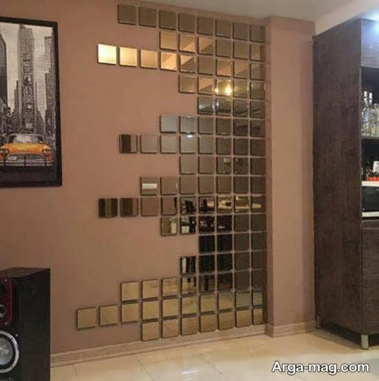 تزیین دیوار با آینه در بخش های مختلف خانه