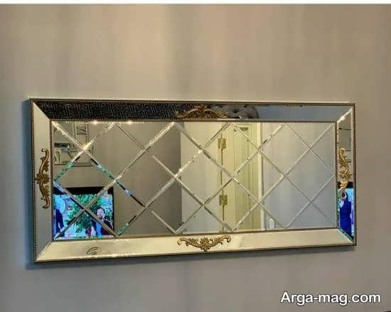 تزیینات زیبا و خارق العاده ی دیوار با آینه