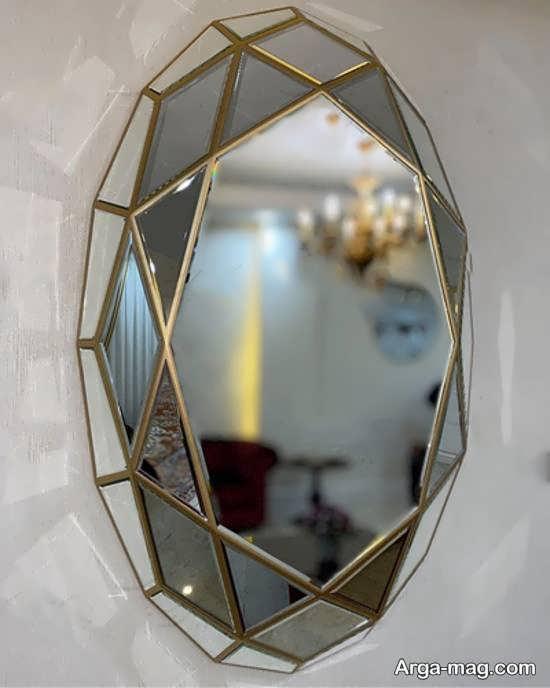 نمونه هایی ایده آل و شیک از تزیین دیوار با آینه