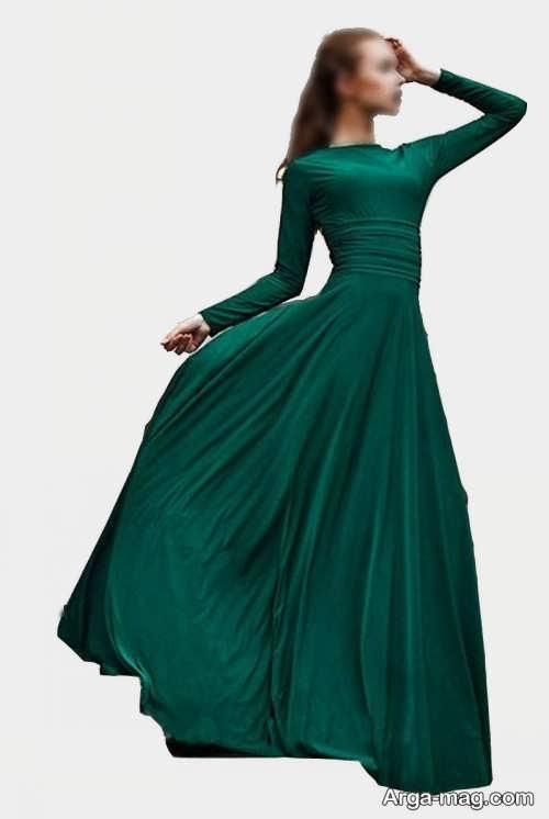 لباس آستین دار برای مهمانی رسمی