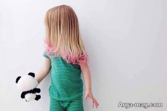 عوارض رنگ کردن موی بچه ها
