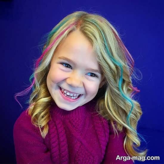 خطرات احتمالی رنگ کردن موی بچه ها