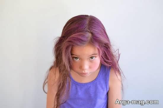 تاثیرات منفی ناشی از رنگ کردن موی بچه ها
