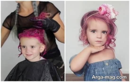 مضرات رنگ کردن موی کودکان