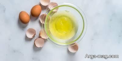 تاثیر سفیده تخم مرغ در از بین بردن پف پلک