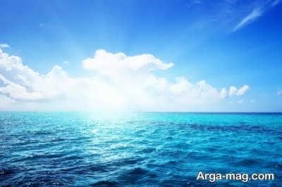 انشا جالب در مورد دریا