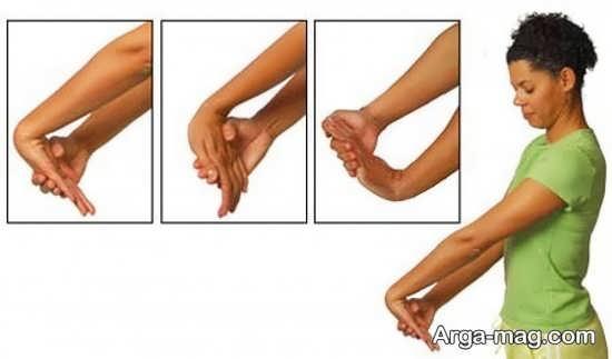 انواع تمرینات مفید برای مچ دست