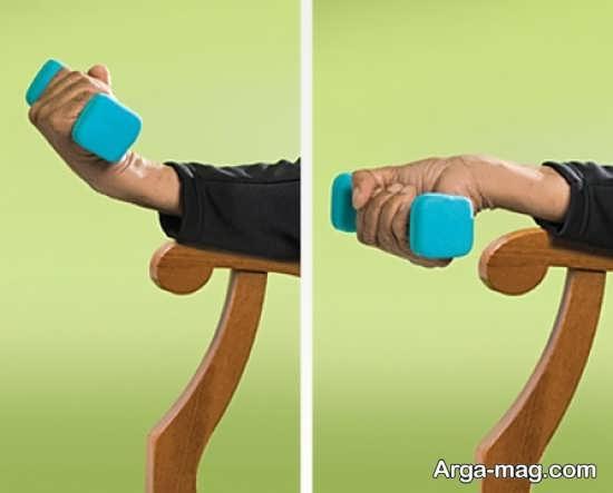 حرکات کششی و تقویتی برای مچ دست