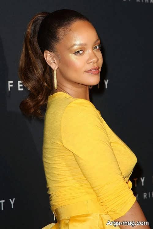 آرایش صورت جدید برای لباس زرد
