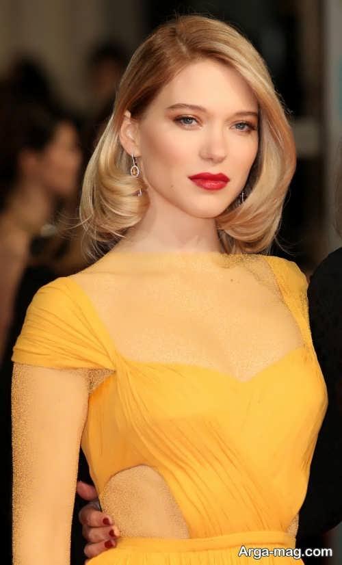 مدل میکاپ برای لباس زرد
