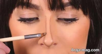 آرایش بینی قوز دار