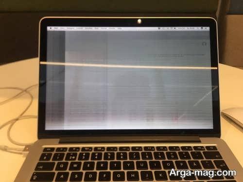 مشکل صفحه نمایش لرزان