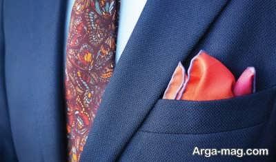 معرفی انواع تا کردن دستمال جیبی