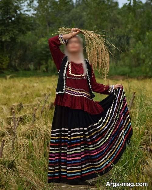 مدل لباس محلی شیک گیلانی