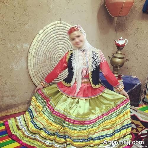 مدل لباس محلی گیلانی خاص و زیبا