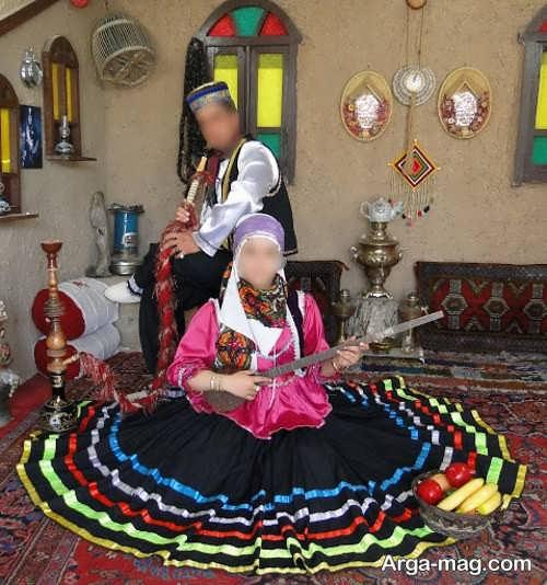 لباس محلی گیلانی زیبا و خاص