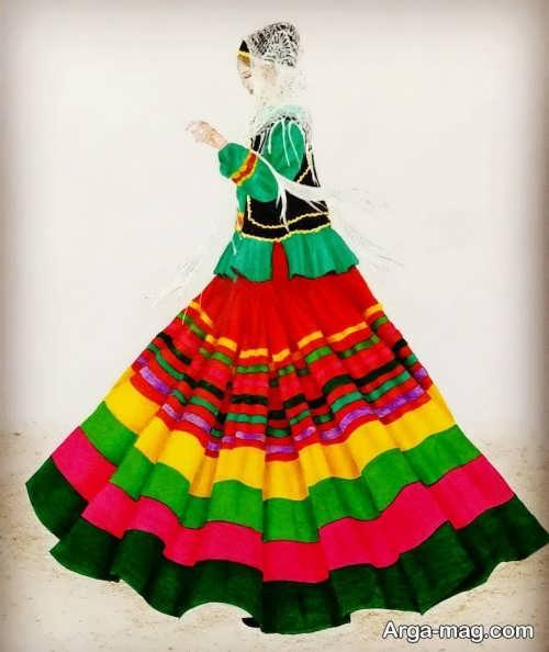 طرح لباس محلی گیلان