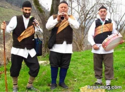 مدل لباس محلی گیلانی مردانه