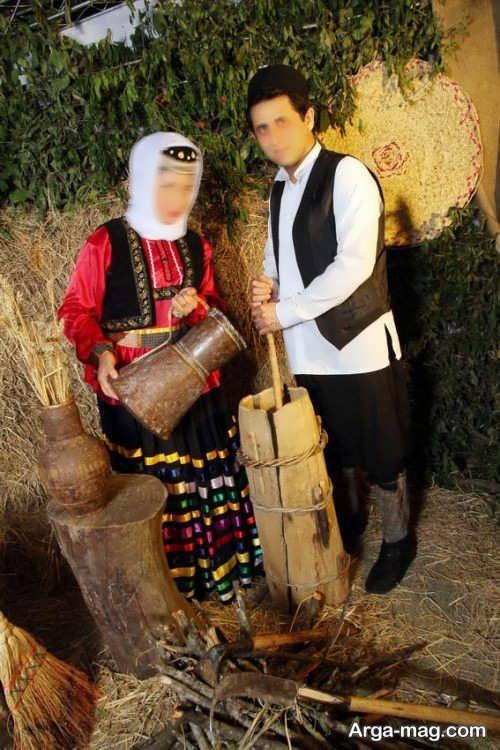 مدل لباس محلی گیلانی زنانه و مردانه