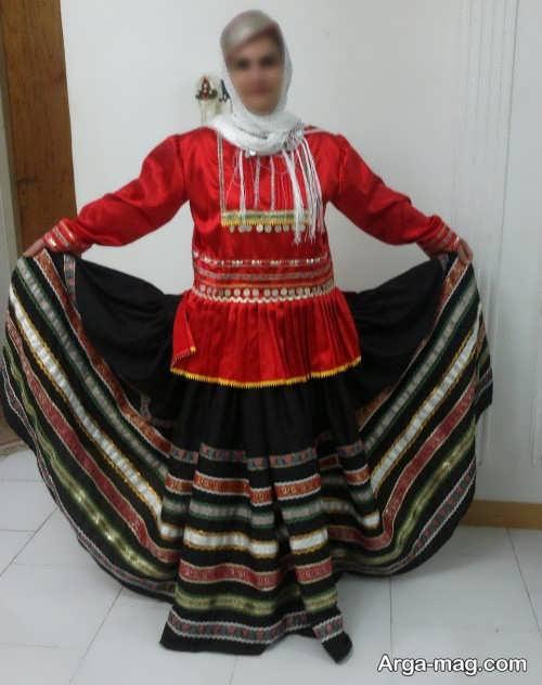 لباس محلی گیلانی زیبا