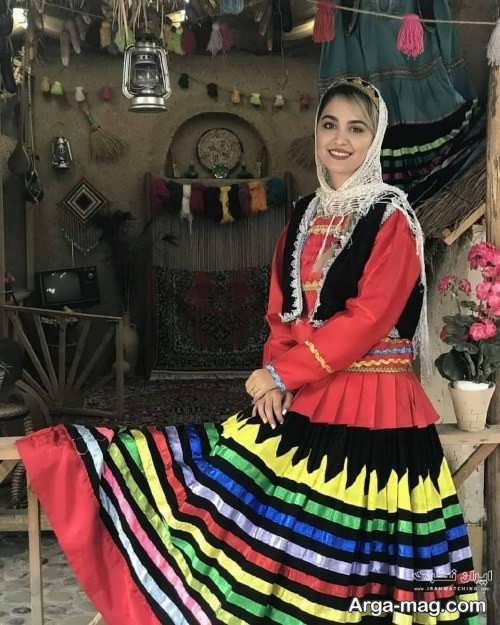 طرح لباس محلی گیلانی