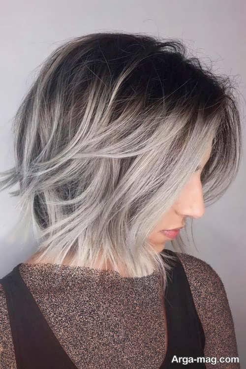 استایل موی کوتاه دخترانه