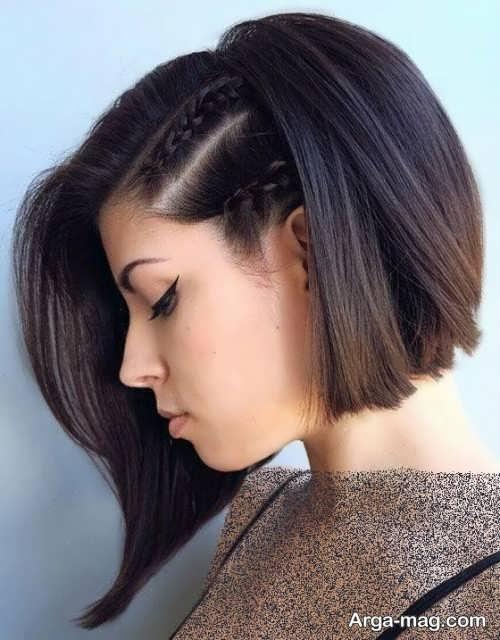 موی زیبا و کوتاه دخترانه