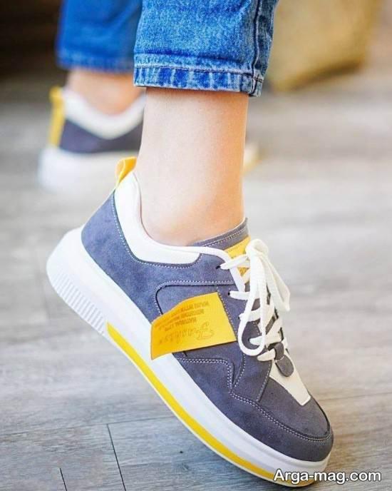 نمونه کفش جدید کتانی